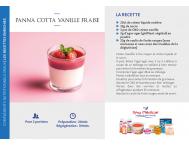 Panna cotta vanille-fraise