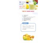 Smoothie banane - mangue